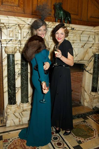 Philippa Holland and Lady Sitwell