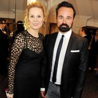 Dina Korzun and Evgeny Lebedev