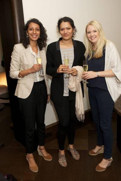 Shona Patel, Anouska Almeida and Julia Dean