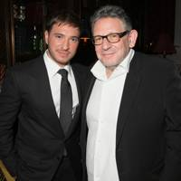 Jonas Blue and Sir Lucian Grainge