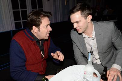 Nicholas Hoult and Jonathan Ross