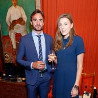 Thom Evans and Arabella Boardman