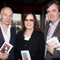 Rupert Thomson, Rose Tremain and Sebastian Barry