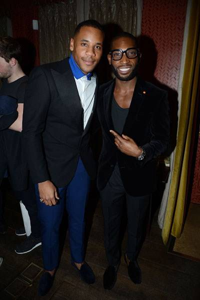 Reggie Yates and Tinie Tempah