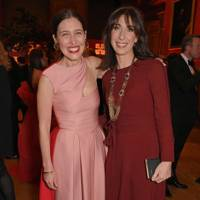 Emilia Wickstead and Samantha Cameron