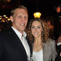 Lewis Moody and Amy Williams