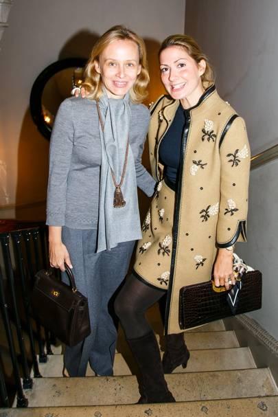 Petra Horvat and Catherine Heeschen