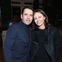 Roland Mouret and Caroline Rush