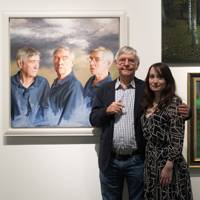 Sir Tom Courtenay and Isobel Peachey
