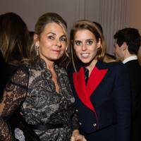 Debra Reuben and Princess Beatrice