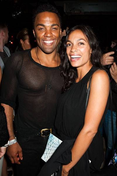Ray Fearon and Rosario Dawson