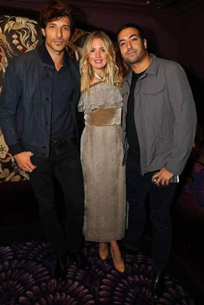 Andrés Velencoso, Marissa Montgomery and Mohammed Al Turki