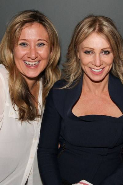Julia Brunton and Karen Millen