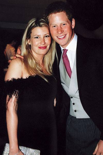 Prince Harry and Mrs Tom Parker Bowles