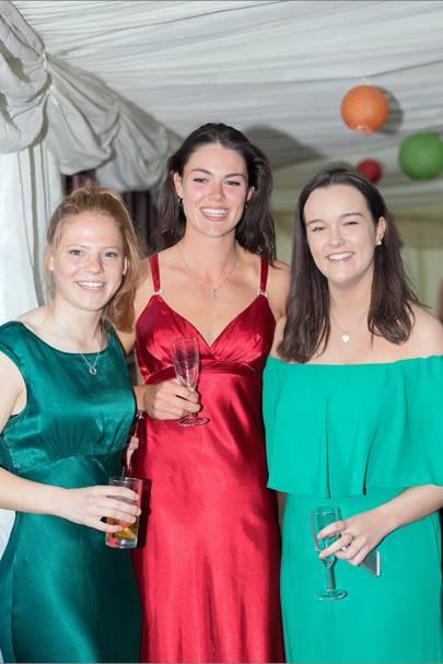 Eleanor Skinner, Appin Mackay-Champion and Emily Jarron