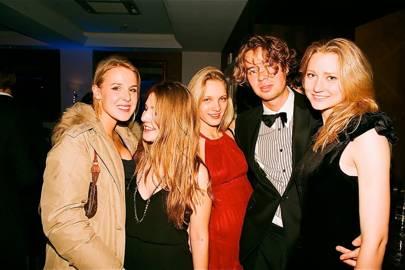 Millie Lehmann, Sonia Spencer-Carr, Emma Hallqvist, Otto Jettmann and Louisa Sjogren