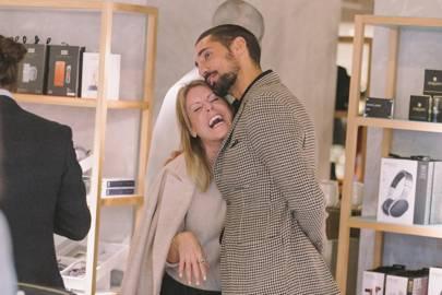 Olivia McCall and Hugo Taylor