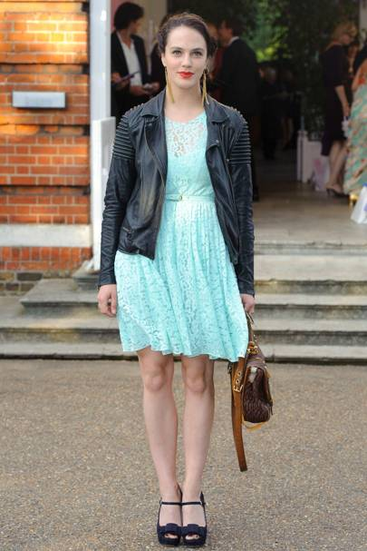 At the English National Ballet summer party, London, 2011