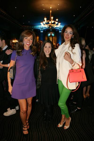 Heather Kerzner, Mary Katrantzou and Yasmin Ghandehari