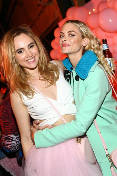Suki Waterhouse and Jaime King
