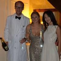 Craig Drake, Lotte Brouwer and Esuna Dugarova