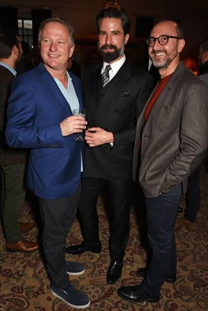 Nick Jones, Jack Guinness and Gianluca Longo