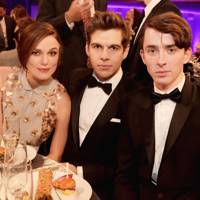 Keira Knightley, James Righton and Matthew Beard
