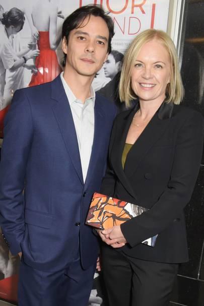 Frederic Tcheng and Mariella Frostrup