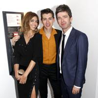 Sara Macdonald, Alex Turner and Noel Gallagher