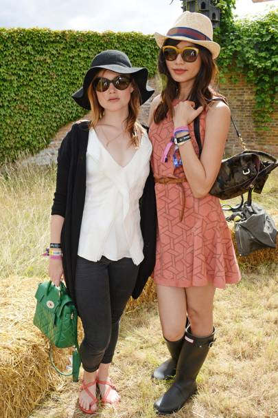 Holliday Grainger and Gemma Chan