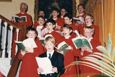 Richard Dinan and the Winchester College Cathedral Choir