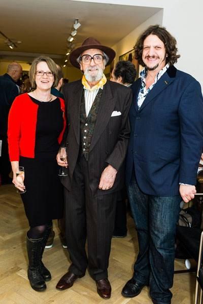 Pat Rayner, Des Rayner and Jay Rayner