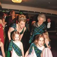 Lady Dalmeny, The Countess of Rosebery, Celeste Primrose, Marina Primrose and Delphi Primrose