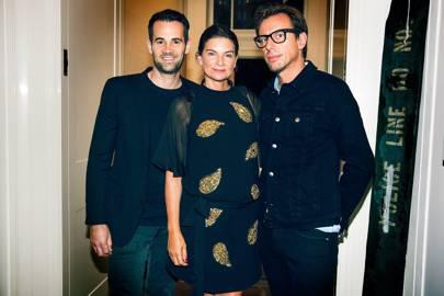 Jens Grede, Dame Natalie Massenet and Erik Torstensson