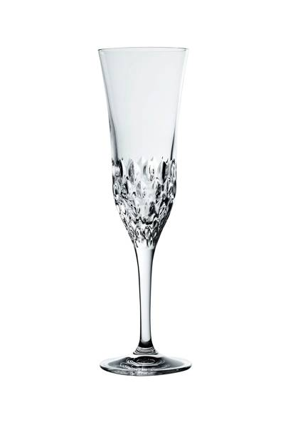 4 x champagne flutes from David Linley