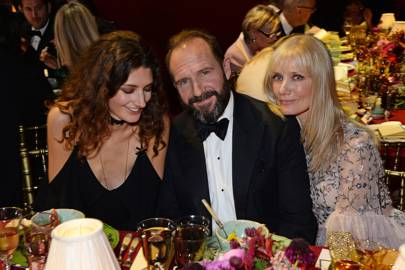 Daisy Bevan, Ralph Fiennes and Joely Richardson