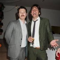 Nick Moran and Alex James