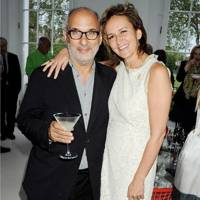 Alan Yentob and Caroline Michel