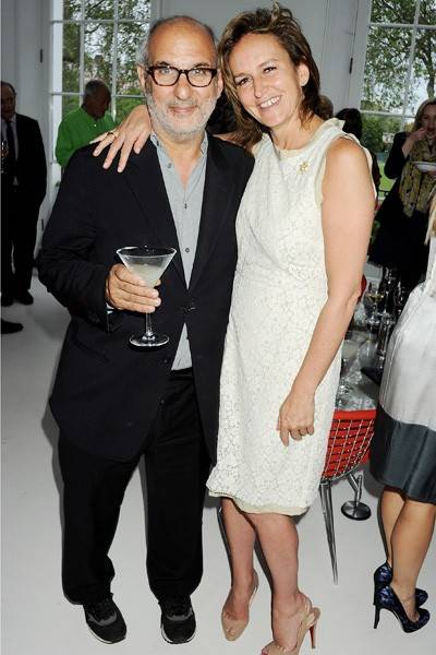 Alan Yentob and Caroline Michel