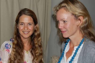 Kristina Sanne and Anna Grundberg