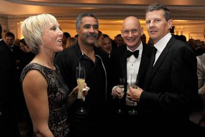 Allison Curbishley, Daley Thompson, Duncan Goodhew and Steve Cram