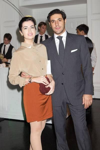 Jamila Askarova and Ignazio Coraci