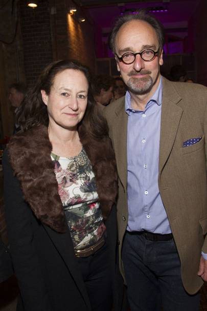 Amanda Marmot and Mark Tandy