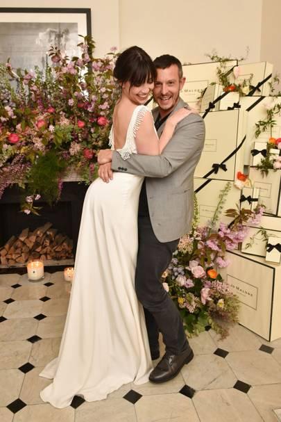 Daisy Lowe and Jonathan Saunders