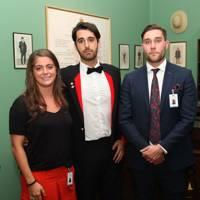Lavinia Stewart-Brown, Danilo Tersigni and John-Paul Allan