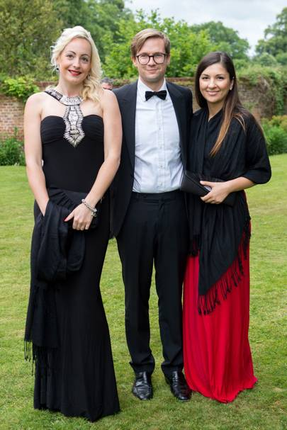 Claire Willis, Tom Scarbrough and Mia Rezmerita