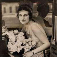 In Her Car When She Was A Debutante In 1930