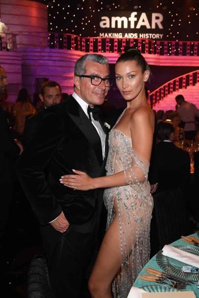 Giorgio Guidotti and Bella Hadid