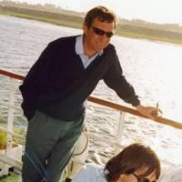 The Hon Jamie Broughton and Mrs Rupert Bruce