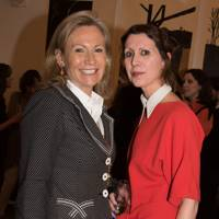 Lady Myners and Valeria Napoleone